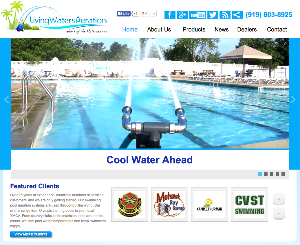 Client Profile: Living Waters Aeration