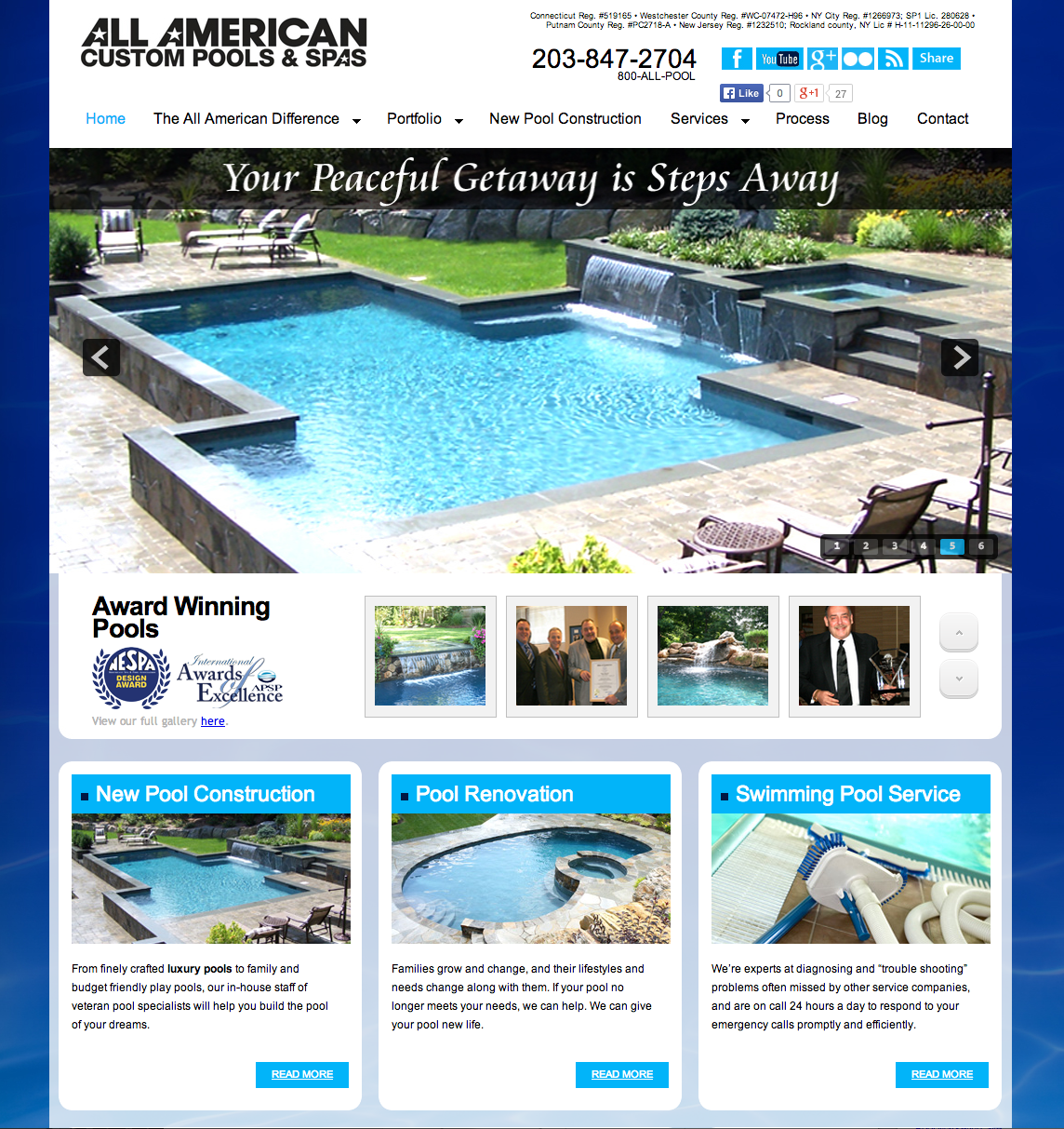 Client Profile: All American Custom Pools & Spas