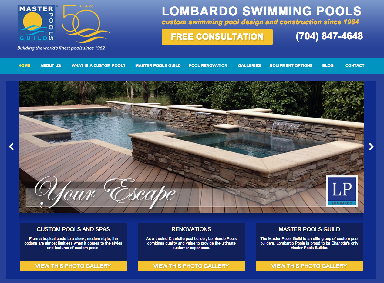 Client Profile: Lombardo Pools