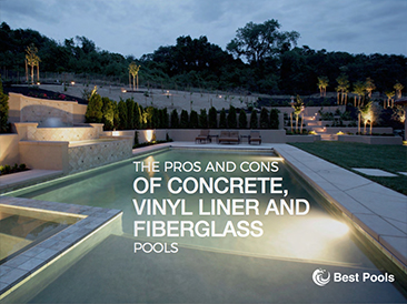 The Pros and Cons of Concrete Pools, Vinyl Liner Pools, and Fiberglass Pools