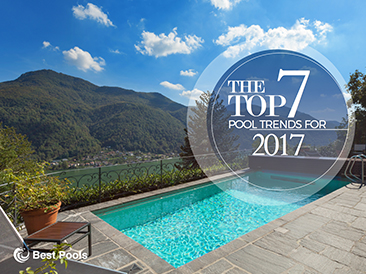 Top 7 New Pool Trends <br>for 2017