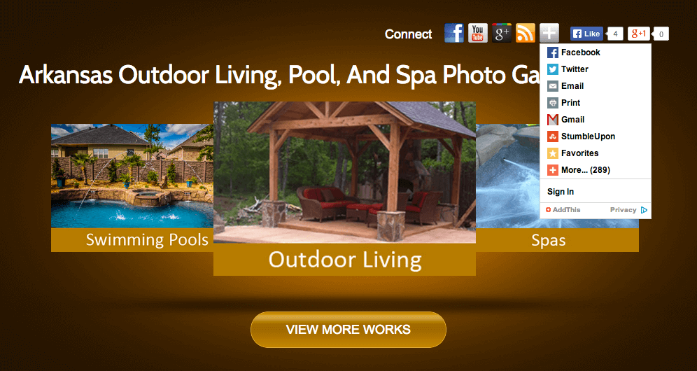 Client Profile: Backyard Creations | Pool Marketing Site Digital and Inbound Marketing Agency Houston