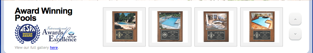 Client Profile: All American Custom Pools and Spas | Pool Marketing Site Digital and Inbound Marketing Agency Houston