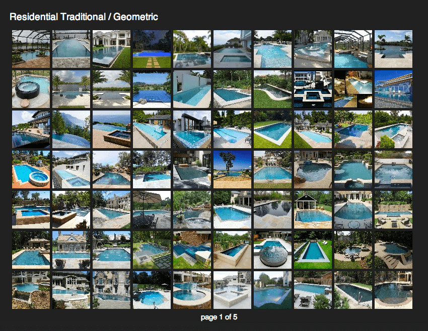 Client Profile: Lombardo Pools | Pool Marketing Site Digital Media and Inbound Marketing Agency Houston