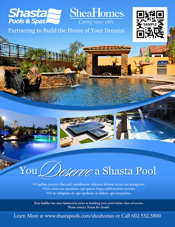 Graphic design services logos banners brochures pool for Pool design graphic