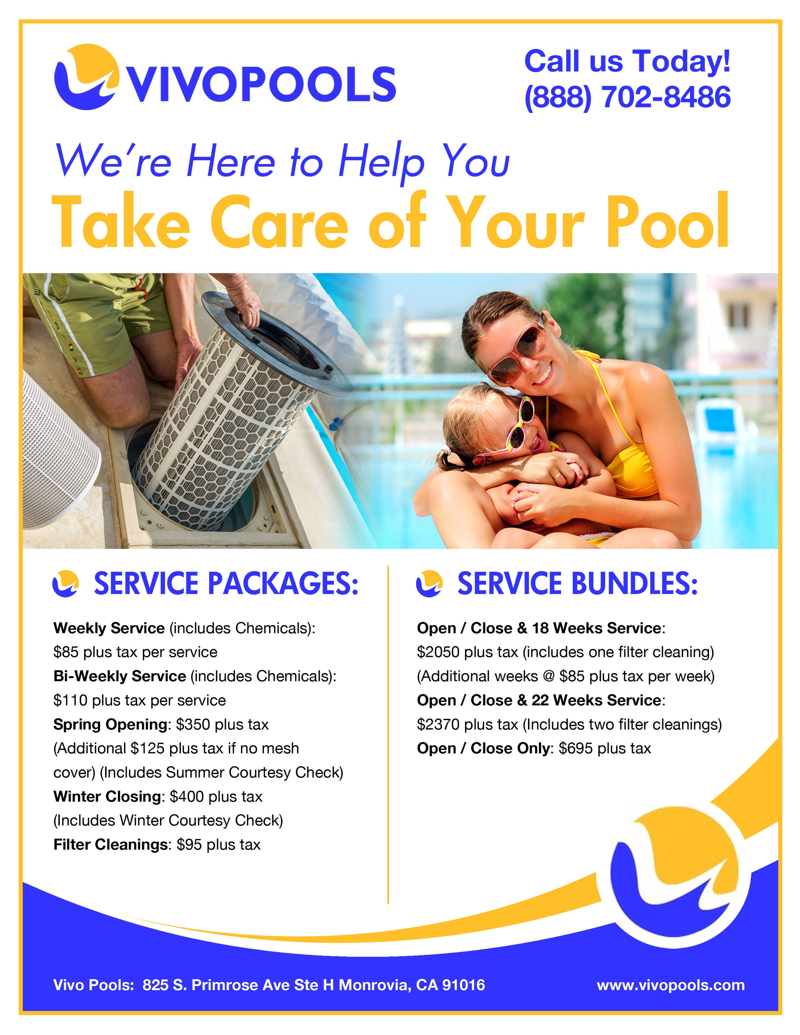 pool service flyers advertising advertising truebiglife how to start