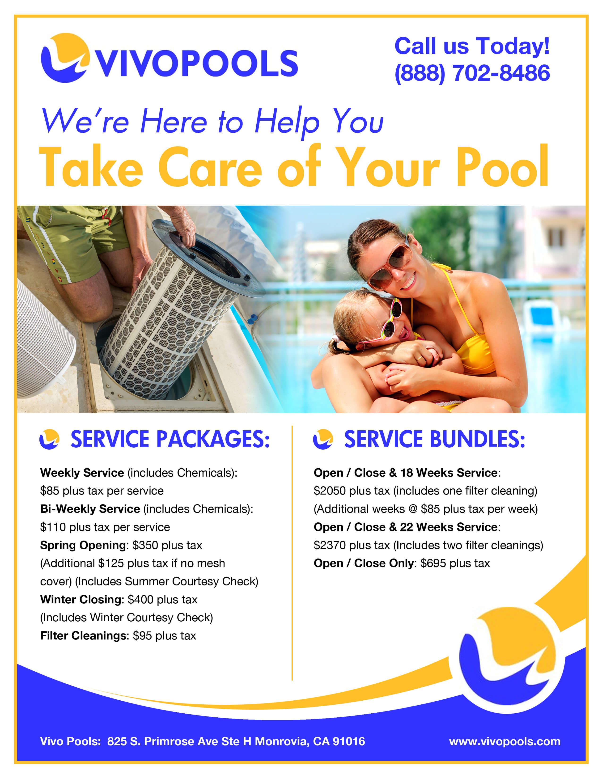 pool service flyers. Flyers Pool Service
