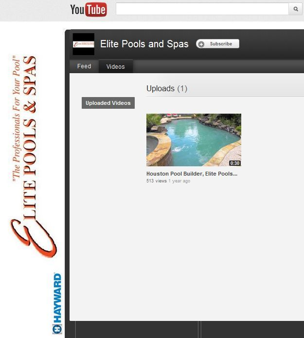 Case Study: Elite Pools and Spas YouTube Success