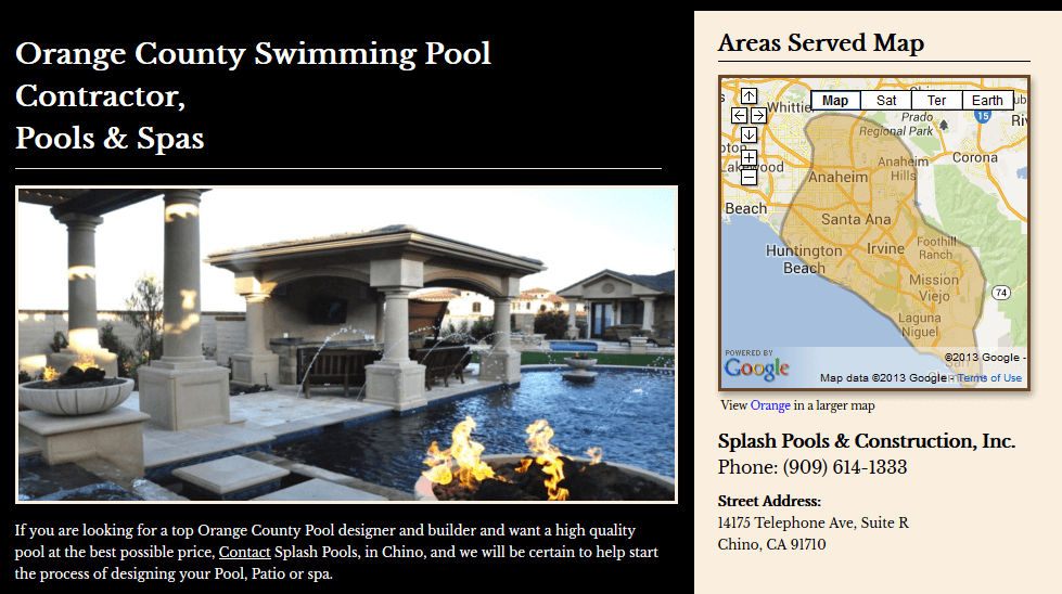 Wanting to build a pool, spa, remodel or backyard design, but not sure what you'd like? Click on each page under the navigation and see a categorized lightbox gallery on each of the pages to give you some inspirational ideas.