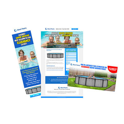 Above Ground Pool Marketing Campaign