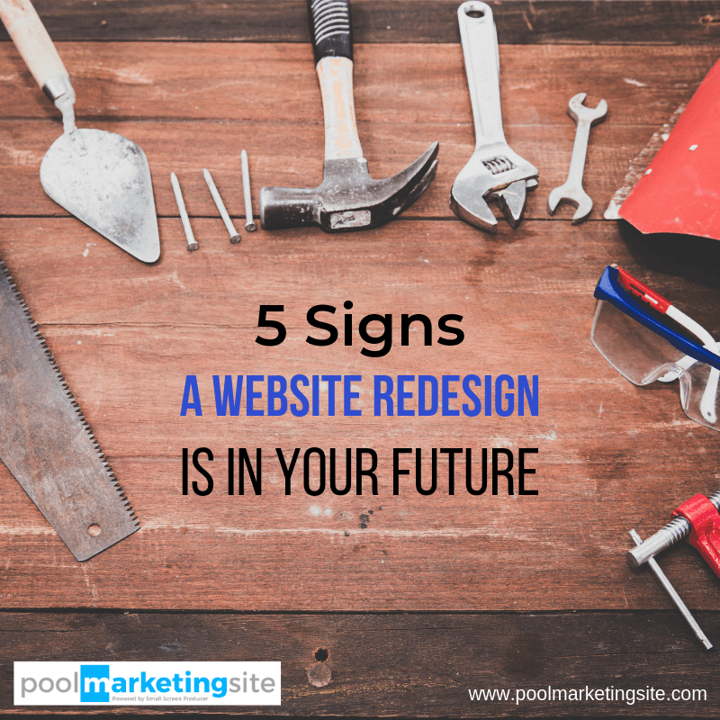 5 Signs a Website Redesign Is in Your Future