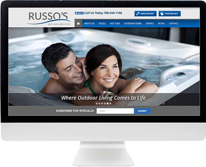 Russo's Pools • Spas • Outdoor Living