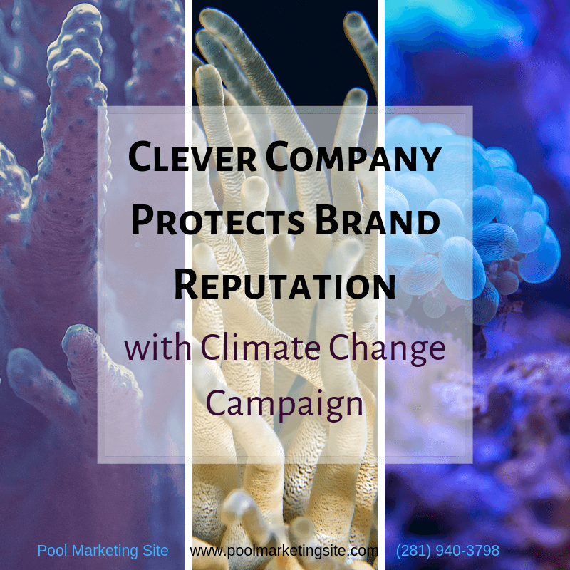 Clever Company Protects Brand Reputation with Climate Change Campaign
