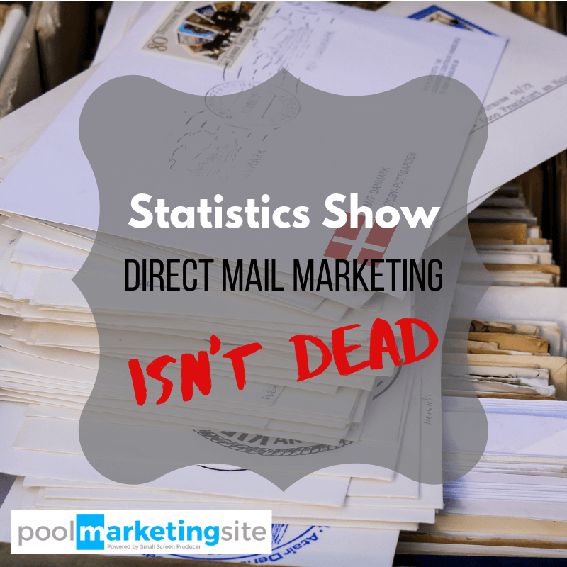 Statistics Show Direct Mail Marketing Isn't Dead