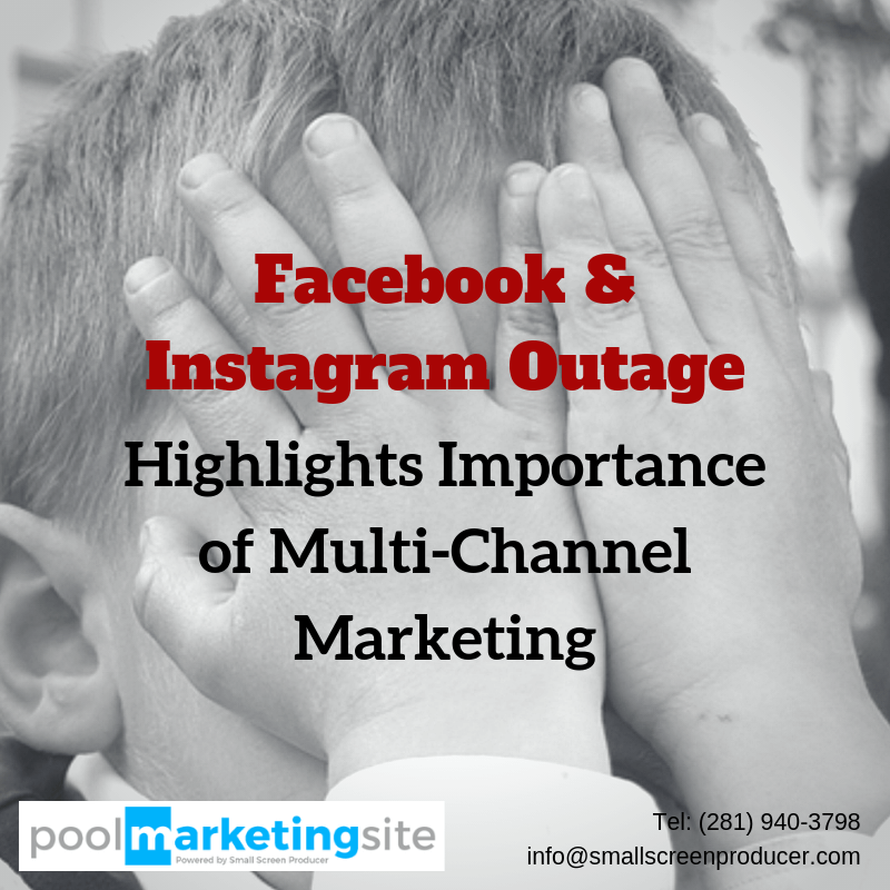 Facebook & Instagram Outage Highlights Importance of Multi-Channel Marketing