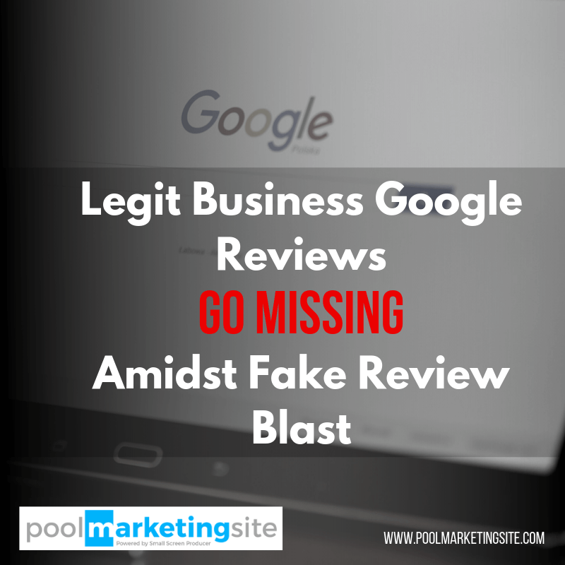 "Legit Business Google Reviews Go ""Missing"" Amidst Fake Review Blast"