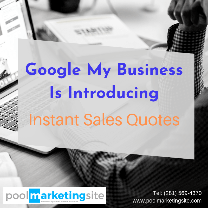 Google My Business Is Introducing Instant Sales Quotes