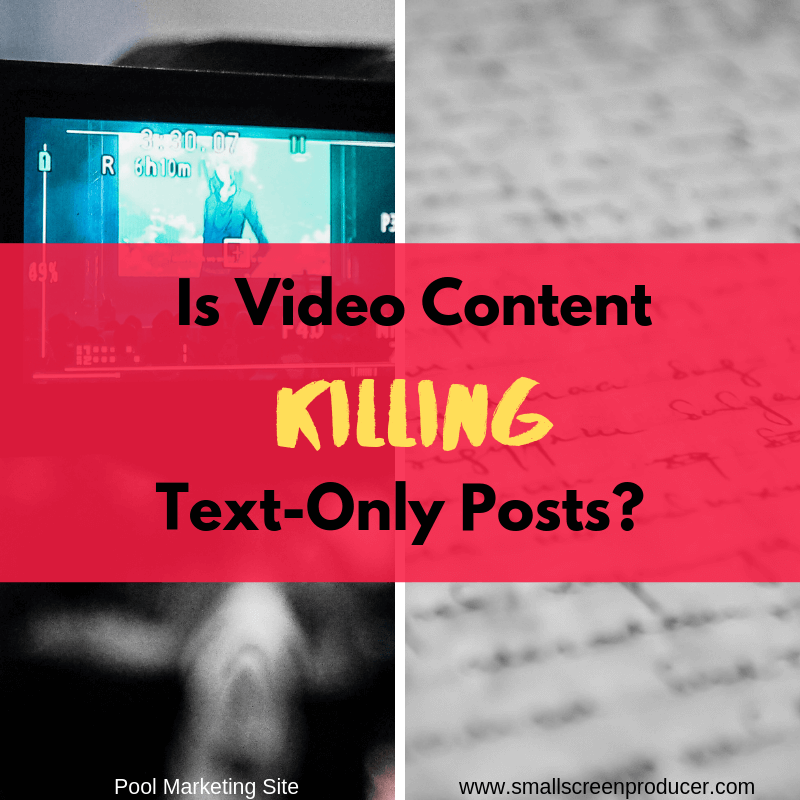Is Video Content Killing Test-Only Posts?