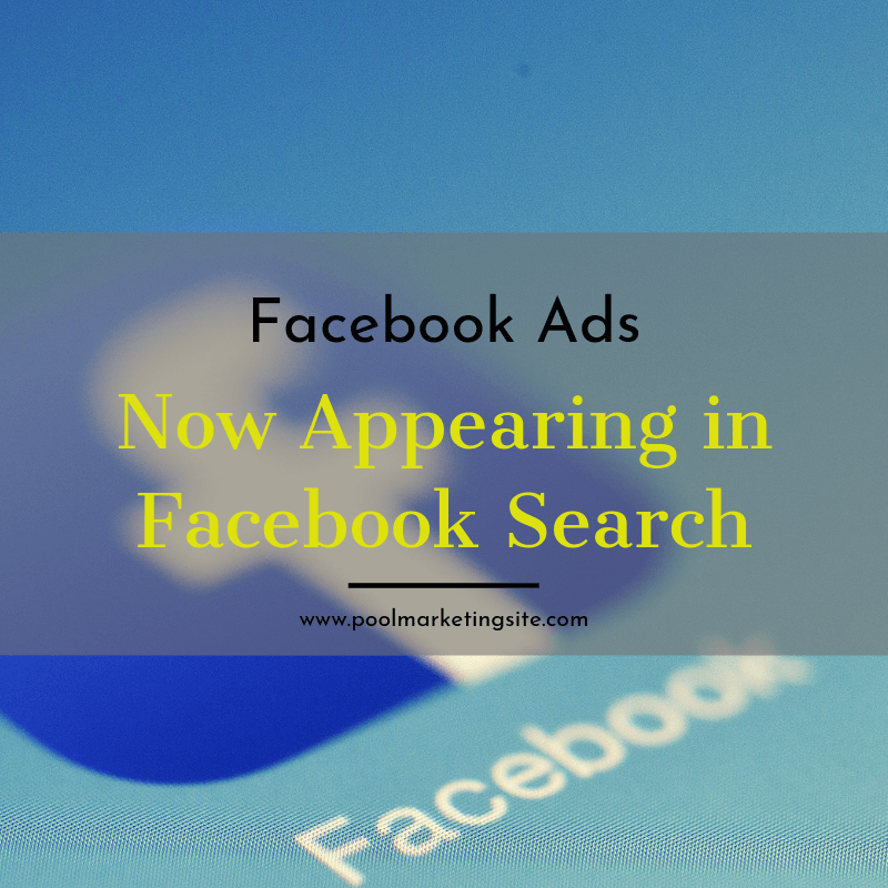 More Facebook Ads Now Appearing in Facebook Search