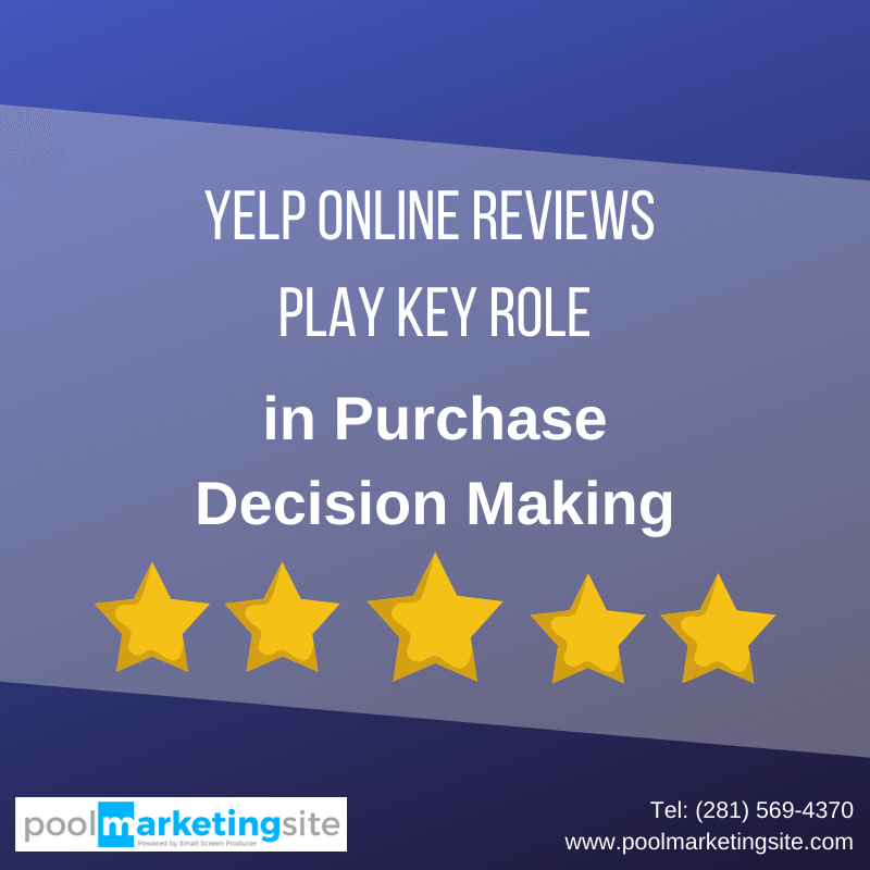 Yelp Online Reviews Play Key Role in Purchase Decision Making