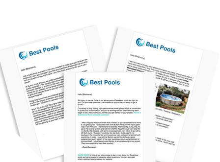 Above Ground Pool Workflows
