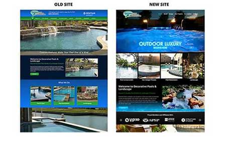 Website Homepage Redesign