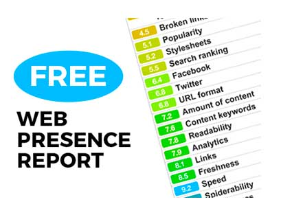 FREE Web Presence Report