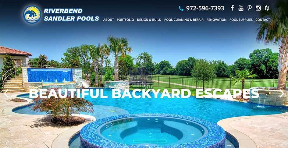 Riverbend Sandler Pools