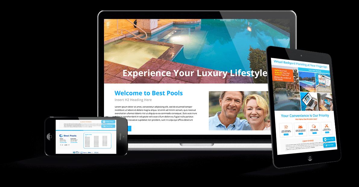 Specialty-Focused Pool & Spa Websites