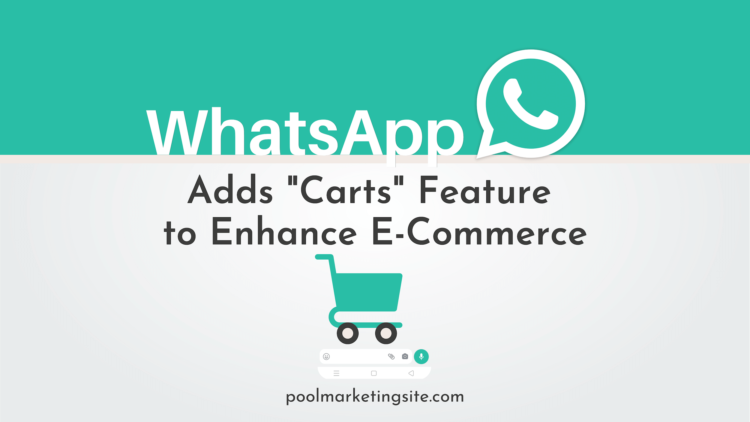 WhatsApp Adds 'Carts' Feature to Enhance E-Commerce